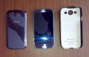 Cмартфон Samsung Galaxy S III 16GB (i9300). Цвет Pebble Blue. + чехол