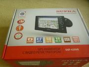 Навигатор  GPS c видеорегистратором  Supra SNP-439VR
