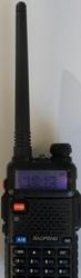 Baofeng UV-5R рация 2х диапазонная 136-174 и 400-520 мгц нoвая