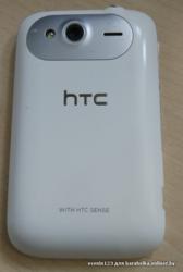 Смартфон HTC Wildfire S БУ,  белый корупус.